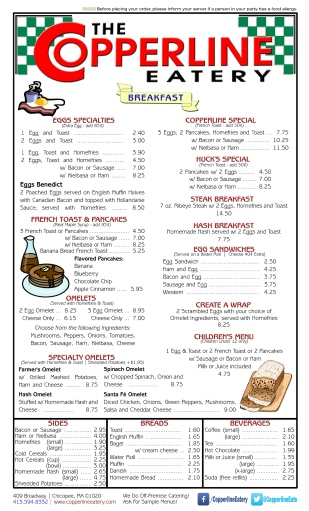 Click to view our full menu.